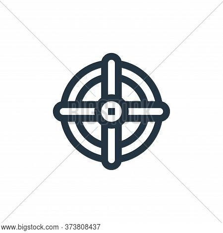 valve icon isolated on white background from manufacturing collection. valve icon trendy and modern