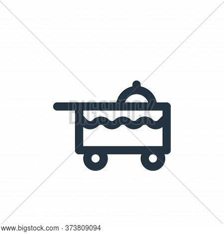 dish icon isolated on white background from holiday collection. dish icon trendy and modern dish sym