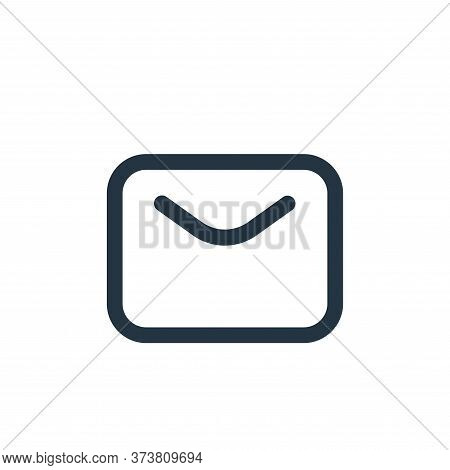 email icon isolated on white background from multimedia collection. email icon trendy and modern ema