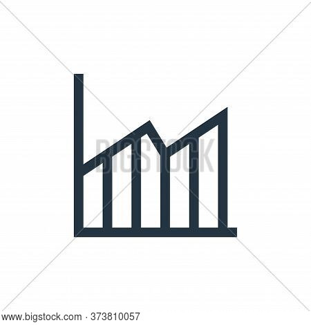 growth icon isolated on white background from marketing and growth collection. growth icon trendy an