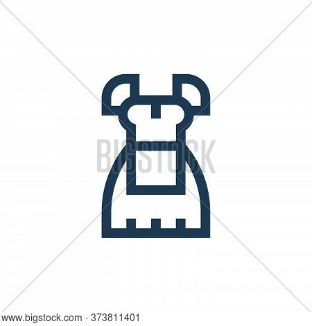 costume icon isolated on white background from holland collection. costume icon trendy and modern co