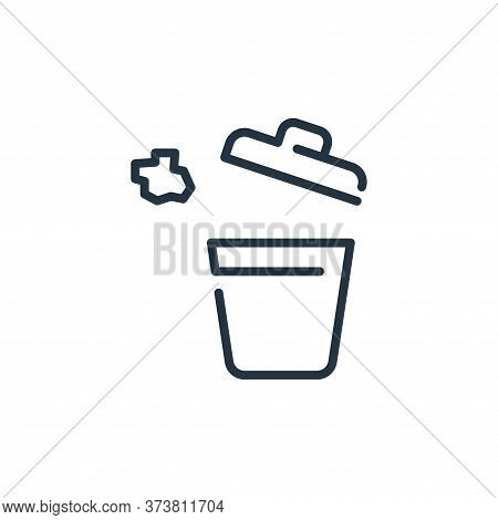 bucket icon isolated on white background from coronavirus collection. bucket icon trendy and modern