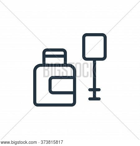 bottle icon isolated on white background from work office supply collection. bottle icon trendy and