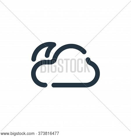 night icon isolated on white background from weather collection. night icon trendy and modern night