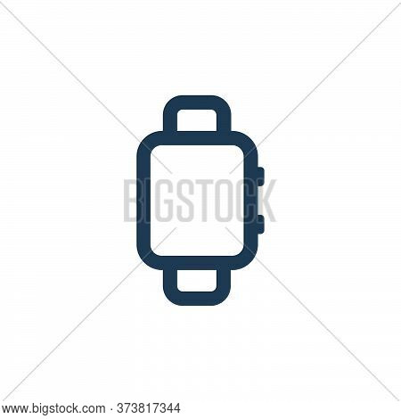 smartwatch icon isolated on white background from electronic and device collection. smartwatch icon