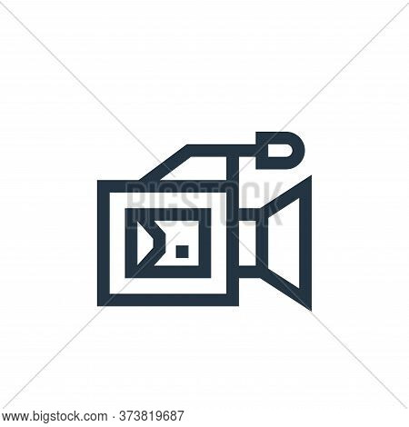 video marketing icon isolated on white background from advertisement collection. video marketing ico