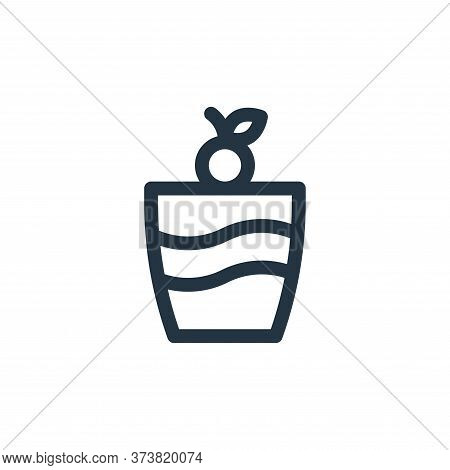 ice cream icon isolated on white background from gastronomy collection. ice cream icon trendy and mo