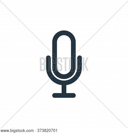 voice icon isolated on white background from multimedia collection. voice icon trendy and modern voi