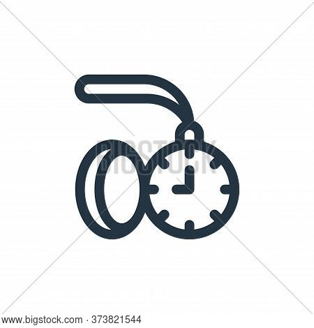 pocket watch icon isolated on white background from england collection. pocket watch icon trendy and