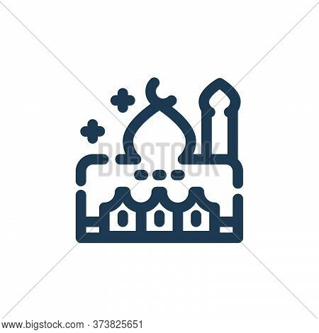 mosque icon isolated on white background from ramadan kareem collection. mosque icon trendy and mode