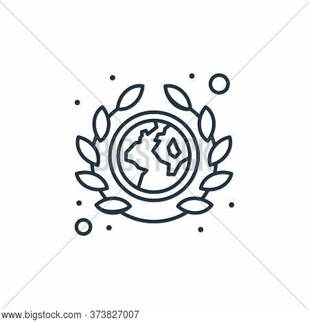 earth day icon isolated on white background from earth day collection. earth day icon trendy and mod
