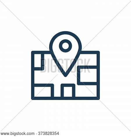 maps icon isolated on white background from holiday collection. maps icon trendy and modern maps sym
