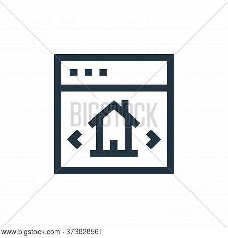 checklist icon isolated on white background from real estate collection. checklist icon trendy and m