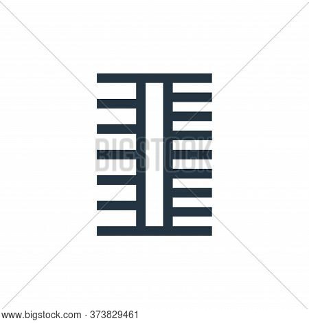 comb icon isolated on white background from pet shop collection. comb icon trendy and modern comb sy