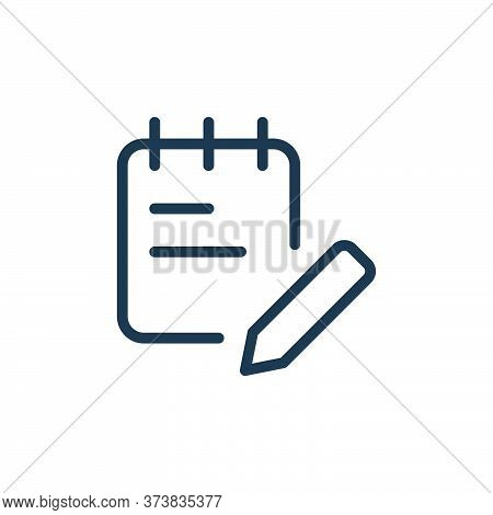 office supplies icon isolated on white background from work office supply collection. office supplie