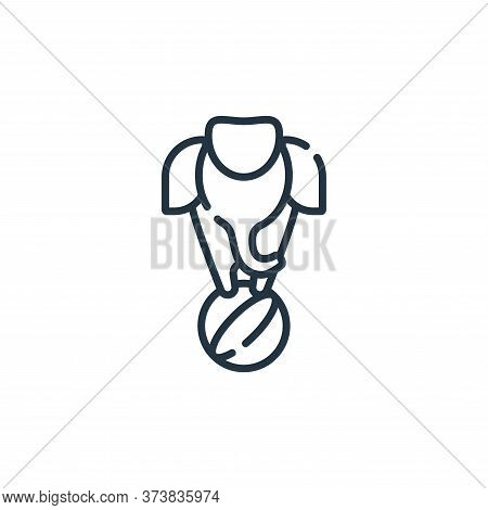 elephant icon isolated on white background from circus collection. elephant icon trendy and modern e
