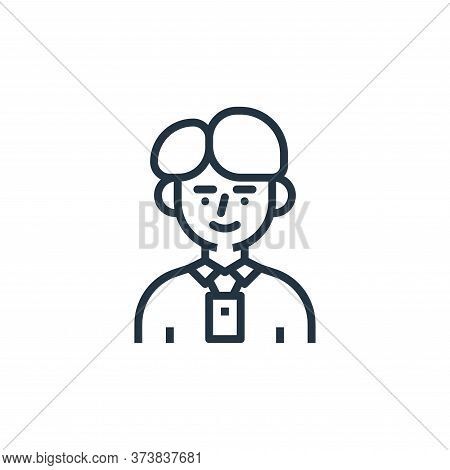 employee icon isolated on white background from branding collection. employee icon trendy and modern