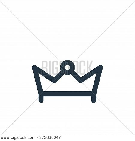 crown icon isolated on white background from holiday collection. crown icon trendy and modern crown