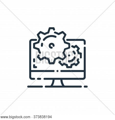 seo icon isolated on white background from startup collection. seo icon trendy and modern seo symbol