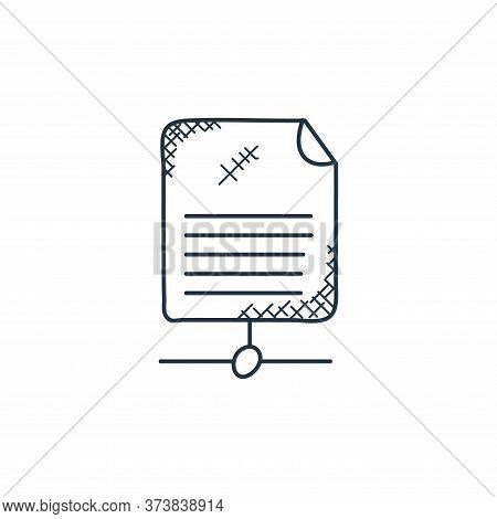 shared icon isolated on white background from technology collection. shared icon trendy and modern s