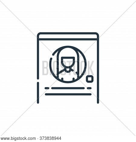 profile icon isolated on white background from social media collection. profile icon trendy and mode