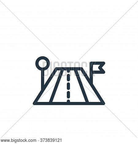 travel icon isolated on white background from navigation collection. travel icon trendy and modern t