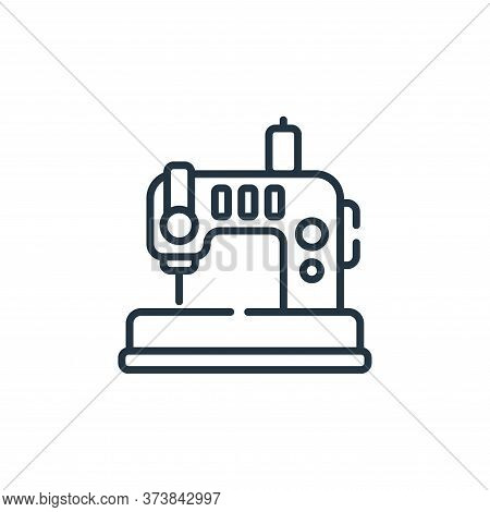 Sewing Machine Vector Icon From Sewing Collection Isolated On White Background