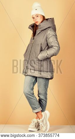 Street Style. Girl Wear Fashion Clothes. Winter Outfit Concept. Modern Style. Look Fashionable. Aest