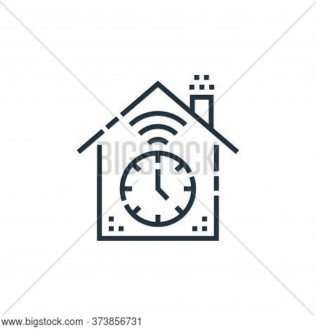 timer icon isolated on white background from smarthome collection. timer icon trendy and modern time