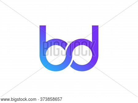 Construction Bd Logo Design For Business Corporate Sign With Creative Modern Trendy