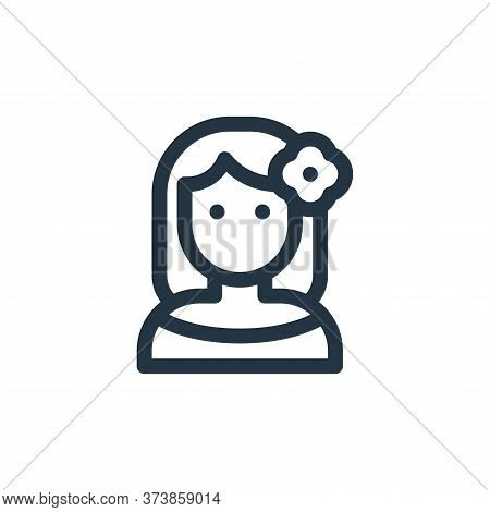 woman icon isolated on white background from mexico collection. woman icon trendy and modern woman s