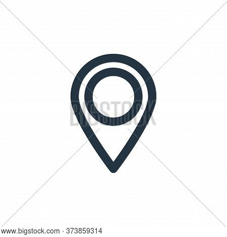 gps icon isolated on white background from multimedia collection. gps icon trendy and modern gps sym