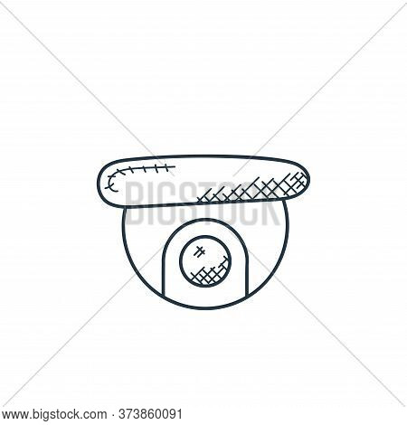 cctv camera icon isolated on white background from technology collection. cctv camera icon trendy an