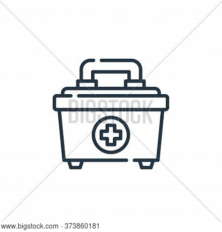 first aid kit icon isolated on white background from allergies collection. first aid kit icon trendy