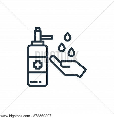washing hand icon isolated on white background from virus collection. washing hand icon trendy and m