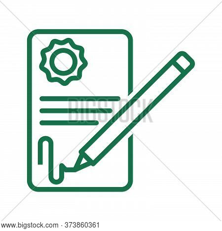 Black Line Icon For Deal-agreement Deal Agreement Agreement Signature Feedback Registration Legaliza