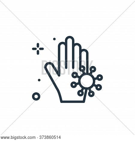 hand wash icon isolated on white background from hygiene collection. hand wash icon trendy and moder