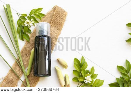 Herbal Shampoo Extract Vegetation Lemongrass Flora Of Asia Health Care For  Wash Hairs Of Lifestyle
