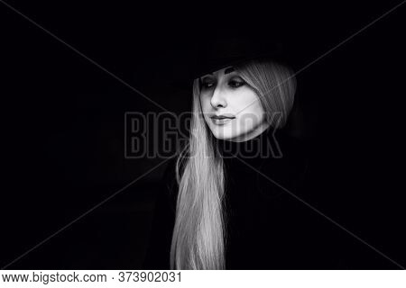 Philosophy Portrait Of Young Woman, Minds Of Young People