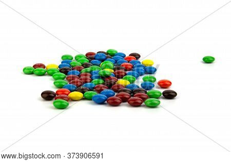 Suratthani Thailand - June 29, 2020: M&m's Candies. M&m's Produced By Mars, Incorporated. Close Up O