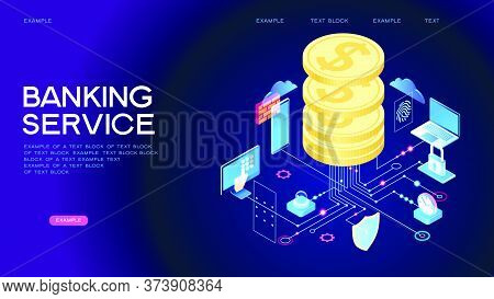 Banking Service Web Banner