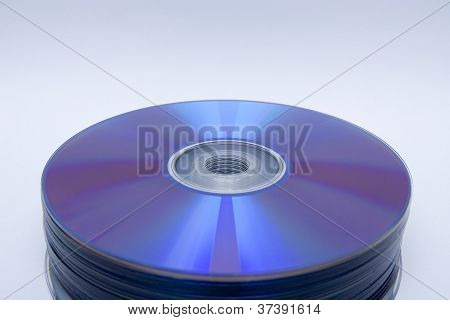 CD-Rom dvd-Stapel
