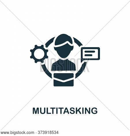 Multitasking Icon. Simple Element From Productive Work Collection. Creative Multitasking Icon For We