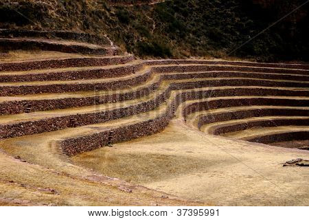 Inca Agronomic site of Moray, Peru