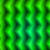 green 3d boxes pattern poster
