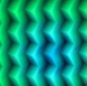 aqua greenish 3d box pattern / design. poster