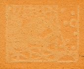 old and aged brown paper abstract background poster