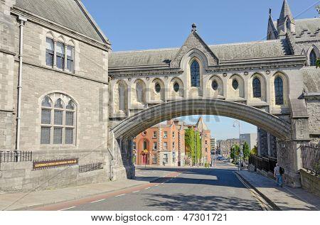 Synod Hall bridge (Dublin, Ireland)