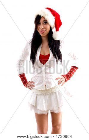 Sexy Chrsitmas Woman