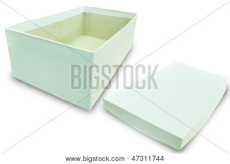 White Box With Cover.